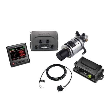 Pack Piloto Automático Garmin GHP Compact Reactor 40 con Display GHC20 + Procesadora CCU + Bomba 1L + ECU + Display GHC20