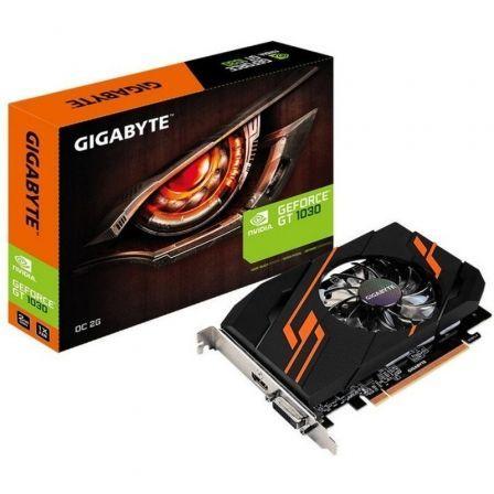 TARJETA GRÁFICA GIGABYTE GEFORCE GT 1030 OC 2G - 1290/1265 MHZ - 2GB GDDR5 - 64 BIT - PCIE - DVI-D - HDMI
