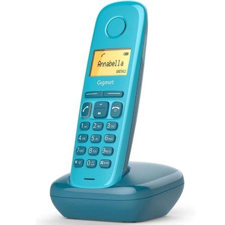 Teléfono Inalámbrico Gigaset A170/ Azul