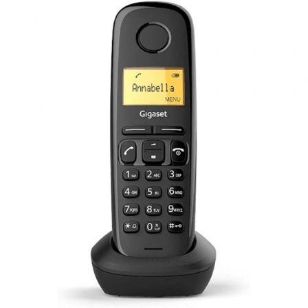 Teléfono Inalámbrico Gigaset A170/ Negro