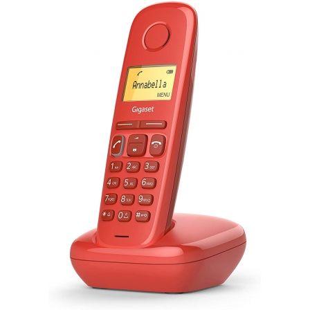 Teléfono Inalámbrico Gigaset A170/ Rojo