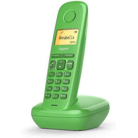 Teléfono Inalámbrico Gigaset A170/ Verde