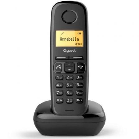 Teléfono Inalámbrico Gigaset A270/ Negro