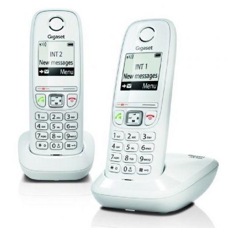 Teléfono Inalámbrico Gigaset AS405/ Pack DUO/ Blanco
