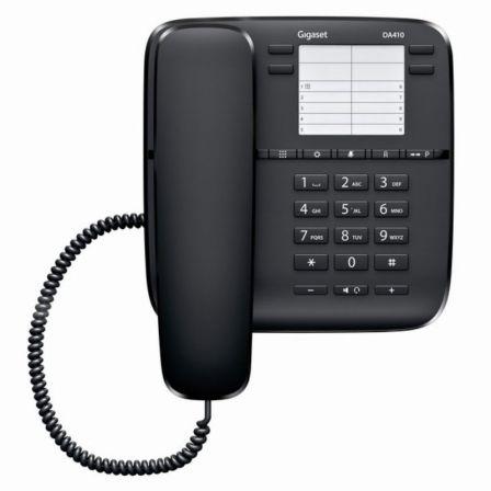 Teléfono Gigaset DA410/ Negro