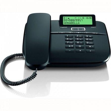 Teléfono Gigaset DA611/ Negro