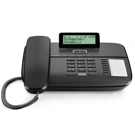 Teléfono Gigaset DA710/ Negro