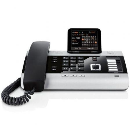 Teléfono Gigaset DX600A ISDN/ Negro