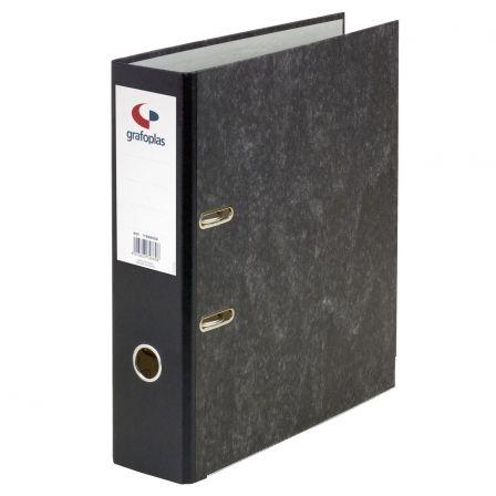 Archivador Grafoplás Ecoclasic 07179100/ Folio 290 x 350 x 75mm/ Negro