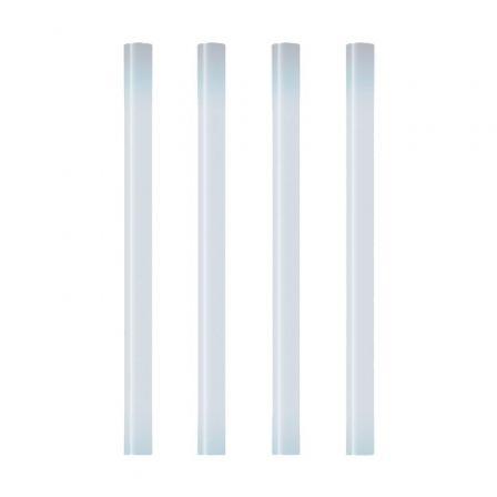 Barras de Cola Termofusible Grafoplás 00058300/ 7.5 x 100mm/ 10 unidades/ Transparente