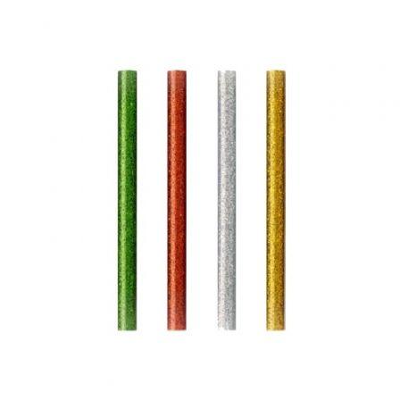 Barras de Cola Termofusible Grafoplás 00058699/ 7.5 x 100mm/ 12 unidades/ Colores Surtidos