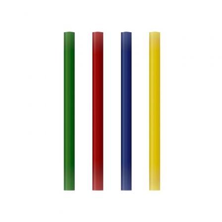 Barras de Cola Termofusible Grafoplás 00058699/ 7.5 x 100mm/ 12 unidades/ Color Variado