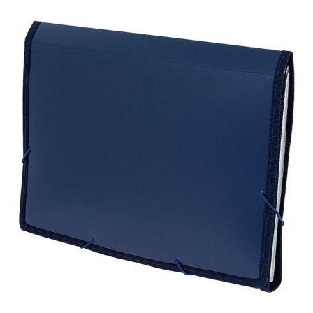 Carpeta Clasificadora Grafoplás 02960430/ Folio 245 x 330 x 35mm/ Azul
