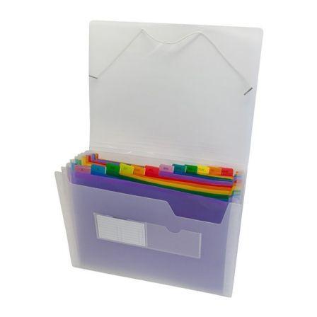 Clasificador Grafoplás 02961000/ Folio 240 x 332 x 40mm/ Transparente