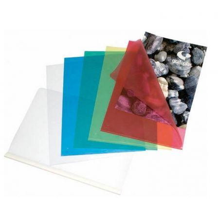 Dossier Grafoplás 05280070/ A4/ 100 unidades/ Transparente