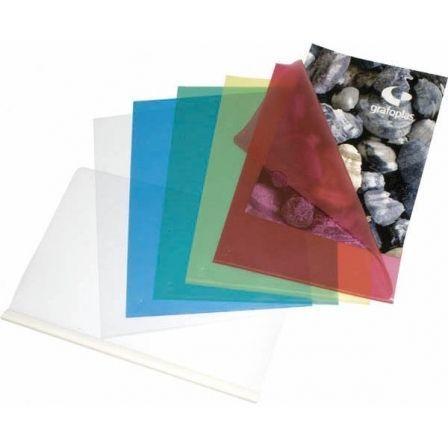 Dossier Grafoplás Uñero 05250070/ Folio/ 100 unidades/ Transparente