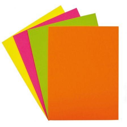 Papel Grafoplás Fixo Paper 00650098/ DIN A4/ 75g/ 100 Hojas/ Colores Fluorescentes