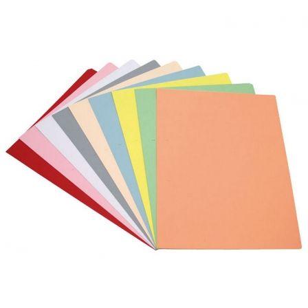 Subcarpeta Grafoplás 00017260/ A4/ 50 unidades/ Amarillo Pastel