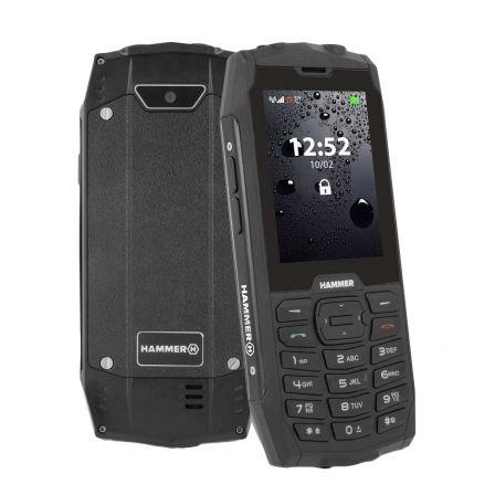Teléfono Móvil Ruggerizado Hammer 4/ Negro