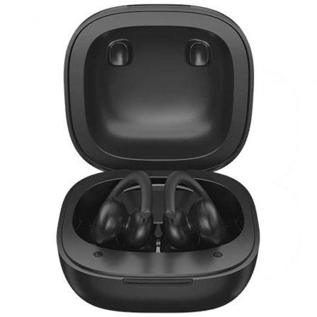Auriculares Bluetooth Haylou T17 con estuche de carga/ Autonomía 7h/ Negros