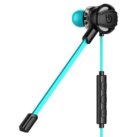 Auriculares Gaming con Micrófono Hiditec Taiko/ Jack 3.5/ Azules