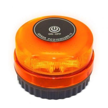 Luz de Emergencia para coche V16 Hispanica HE Z-1075/ Homologada/ Base Imantada/ Funciona a Pilas
