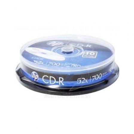 CD-R HP CRE00019-3 52X/ Tarrina-10uds