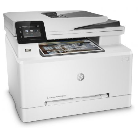 MULTIFUNCIÓN HP WIFI LÁSER COLOR PRO M280NW - 38/21PPM - SCAN 1200X1200PPP - ETHERNET - ADF - AIRPRINT - TONER CF5000/01/02/03 CF540/41/42/43