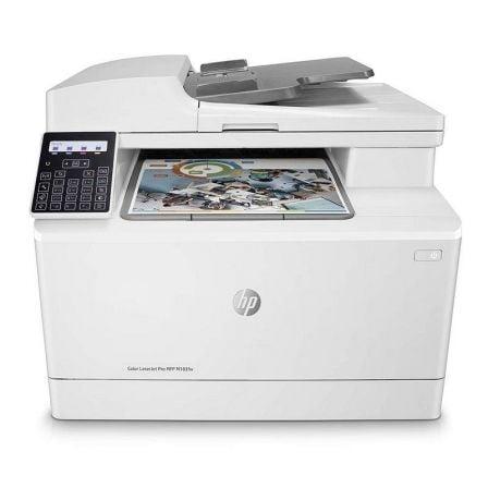Multifunción Láser Color HP Láserjet Pro M183FW WiFi/ Fax/ Blanca