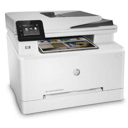 MULTIFUNCIÓN HP CON FAX LASERJET PRO M281FDN - 21/21PPM - 21CPM - SCAN 26PPM - DUPLEX - ADF - USB - RED - EPRINT - HP SMART - TONERS 202/203