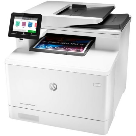 MULTIFUNCION HP WIFI LÁSERJET PRO COLOR M479DW - 27/27PPM - DUPLEX - SCAN 1200*1200 - ADF - USB 2.0 - USB HOST - LAN - TONER 415 BK/Y/M/C