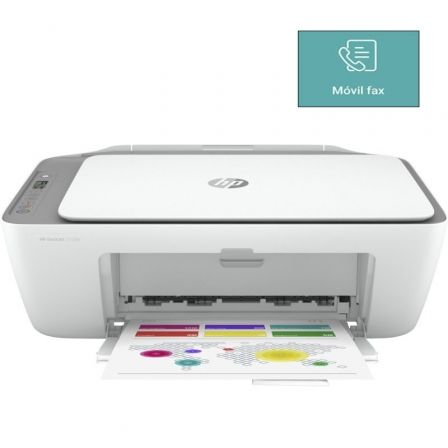 Multifunción HP Deskjet 2720e WiFi/ Fax Móvil/ Blanca