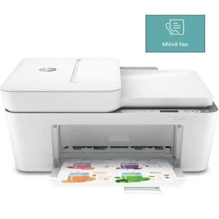 Multifunción HP Deskjet 4120e WiFi/ Fax Móvil/ Blanca