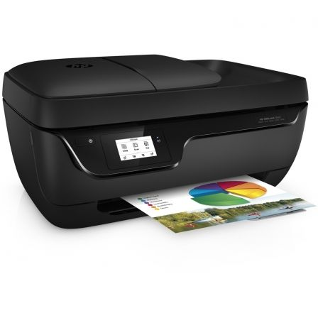 MULTIFUNCIÓN HP WIFI CON FAX OFFICEJET 3833 - 20/16PPM A4 BORRADOR - 7CPM - ESCÁNER 1200PPP - ADF - EPRINT- AIRPRINT - USB - CART. 302/XL