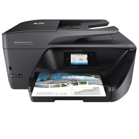 MULTIFUNCIÓN HP WIFI CON FAX OFFICEJET PRO 6970 - 30/26 PPM - DUPLEX - PANTALLA TÁCTIL - SCAN DOBLE CARA - ADF - LAN - EPRINT/AIRPRINT-CART 903/907XL.