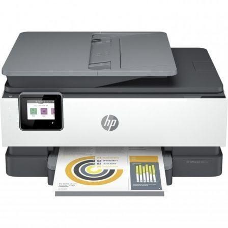 Multifunción HP Officejet Pro 8022e WiFi/ Fax/ Dúplex/ Blanca