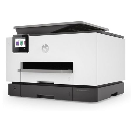 MULTIFUNCIÓN HP WIFI CON FAX OFFICEJET PRO 9022 - 24/20 PPM ISO - DUPLEX - SCAN DOBLE CARA - USB HOST - LAN - ADF - BANDEJA 250 HOJAS - CART. 963/XL B