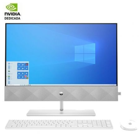 PC All in One HP Pavilion 24-K0004NS Intel Core i5-10400T/ 8GB/ 512GB SSD/ GeForce MX350/ 23.8