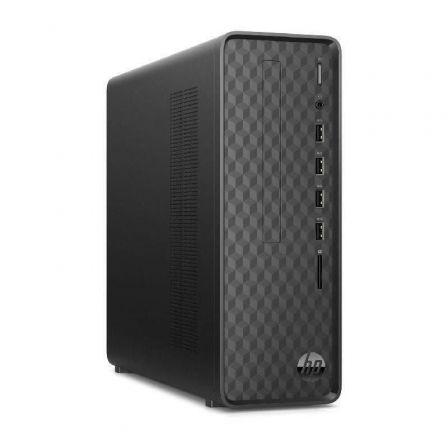 PC HP SLIM DESKTOP S01-AF1006NS - INTEL J4025 2.0GHZ - 8GB - 256GB SSD PCIE NVME - WIFI - BT - VGA/HDMI - NO ODD - W10 - NEGRO