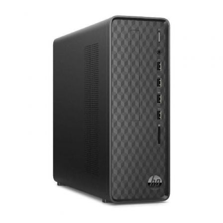 PC HP SLIM DESKTOP S01-PF1010NS - I3-10100 3.6GHZ - 8GB - 512GB SSD PCIE NVME - WIFI - BT - VGA/HDMI - NO ODD - W10 - NEGRO