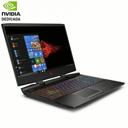 PORTÁTIL HP OMEN 15-DC0007NS - I7-8750H 2.2GHZ - 12GB - 1TB+128SSD - GEFORCE GTX 1050 4GB - 15.6'/39.6CM FHD - HDMI - WIFI AC - BT - W10