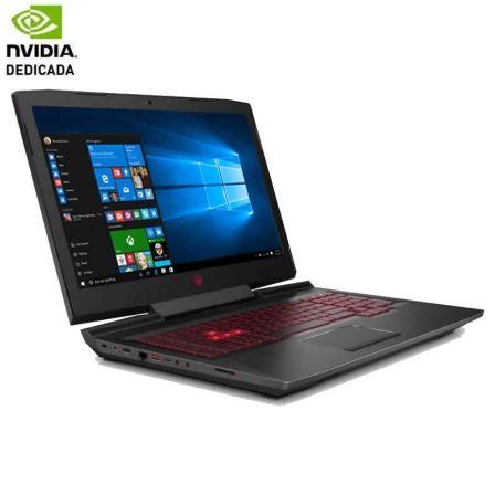 PORTÁTIL HP OMEN 17-AN102NS - I7-8750H 2.2GHZ - 8GB - 1TB+128SSD - GEFORCE GTX 1050 4GB - 17.3'/43.9CM FHD - HDMI - WIFI AC - BT - W10