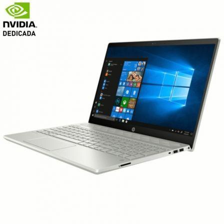 PORTÁTIL HP PAVILION 15-CS0005NS - I7-8550U 1.8GHZ - 8GB - 256GB SSD - NVIDIA GF MX150 4GB -15.6'/39.6CM FHD - HDMI - W10 - PLATA MINERAL