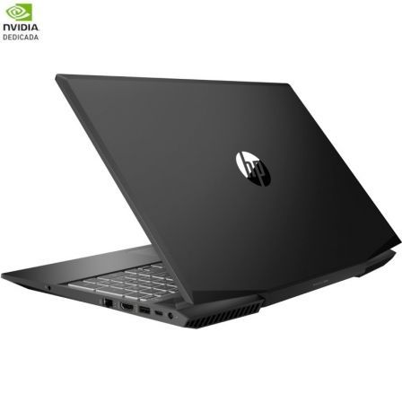 PORTÁTIL HP PAVILION 15-CX0021NS - I5-8300H 2.3GHZ - 8GB - 256 GB SSD - GEFORCE GTX 1060 3GB - 15.6'/39.6CM FHD - HDMI - NO ODD - FREEDOS - NEG SOMBRA