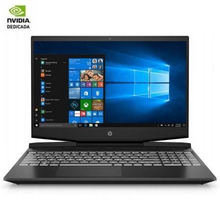 PORTÁTIL HP PAVILION GAMING 15-DK0002NS - I5-9300H 2.4GHZ - 8GB - 512GB SSD - GEFORCE GTX 1650 4GB - 15.6'/39.6CM FHD - W10 - NEGRO SOMBRA