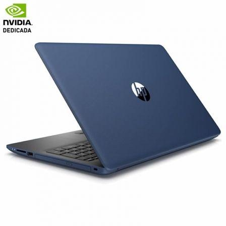 PORTÁTIL HP 15-DA0034NS - I3-7020U 2.3GHZ - 8GB - 256GB SSD - GEFORCE MX110 2GB - 15.6'/39.6CM HD - HDMI - BT - W10 HOME - AZUL PLATA