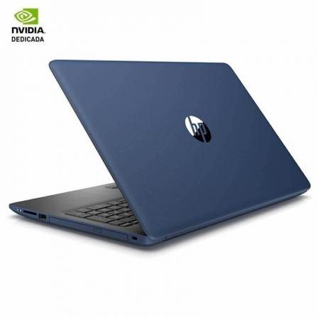 PORTÁTIL HP 15-DA0056NS - I5-8250U 1.6GHZ - 8GB - 256GB SSD - GEFORCE MX110 2GB - 15.6'/39.6CM - HDMI - WIFI BGN/AC - BT - W10 - AZUL PLATA