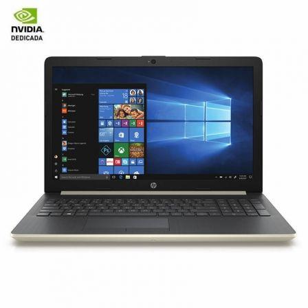 PORTÁTIL HP 15-DA0073NS - I7-8550U 1.8GHZ - 8GB - 1TB - GEFORCE MX130 4GB - 15.6'/39.6CM - HDMI - WIFI BGN/AC - BT - W10 - ORO PLATA