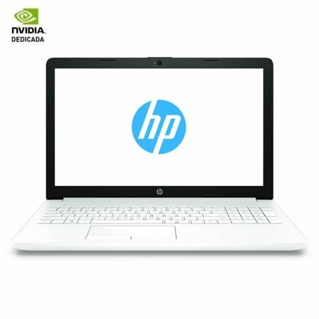 PORTÁTIL HP 15-DA0078NS - I7-8550U 1.8GHZ - 8GB - 256GB SSD - GEFORCE MX130 2GB - 15.6'/39.6CM - HDMI - WIFI BGN/AC - BT - FREEDOS - BLANCO NIEVE