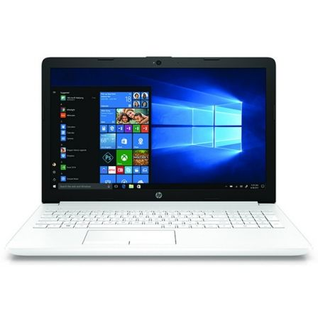 PORTÁTIL HP 15-DA0143NS - I3-7020U 2.3GHZ - 8GB - 256GB SSD - 15.6'/39.6CM HD - DVD RW - HDMI - BT - W10 - BLANCO NIEVE